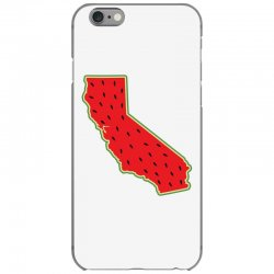 watermelon california map iPhone 6/6s Case | Artistshot