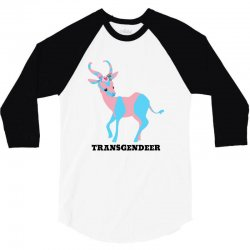 transgendeer for light 3/4 Sleeve Shirt | Artistshot