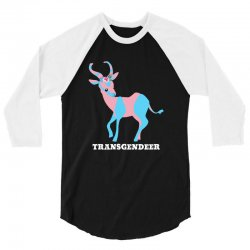 transgendeer for dark 3/4 Sleeve Shirt | Artistshot