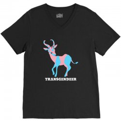 transgendeer for dark V-Neck Tee | Artistshot