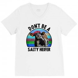 don't be a salty heifer V-Neck Tee | Artistshot
