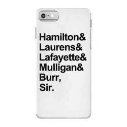 the hamilton crew for light iPhone 7 Case | Artistshot