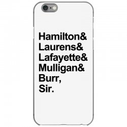 the hamilton crew for light iPhone 6/6s Case | Artistshot