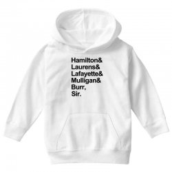 the hamilton crew for light Youth Hoodie | Artistshot