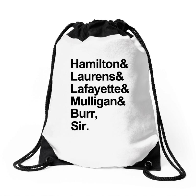 The Hamilton Crew For Light Drawstring Bags | Artistshot