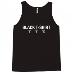 black tshirt for dark Tank Top | Artistshot