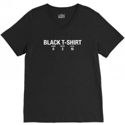 black tshirt for dark V-Neck Tee | Artistshot