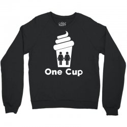 Two Girls One Cup Crewneck Sweatshirt | Artistshot
