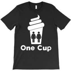 Two Girls One Cup T-Shirt | Artistshot