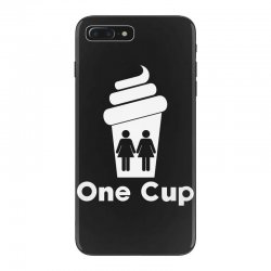 Two Girls One Cup iPhone 7 Plus Case | Artistshot