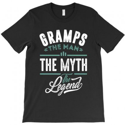 Gramps The Man The Myth The Legend T-shirt Designed By Cidolopez
