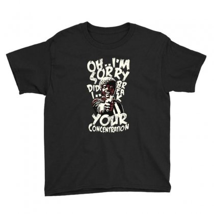 Did I Break Your Concentration Youth Tee Designed By Frizidan