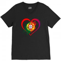 i love portugal V-Neck Tee | Artistshot