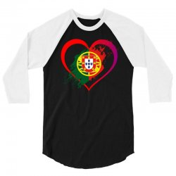 i love portugal 3/4 Sleeve Shirt | Artistshot