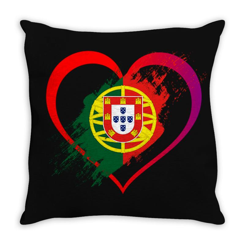 I Love Portugal Throw Pillow | Artistshot