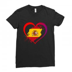 i love spain Ladies Fitted T-Shirt | Artistshot