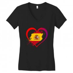 i love spain Women's V-Neck T-Shirt | Artistshot