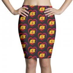 i love spain Pencil Skirts | Artistshot