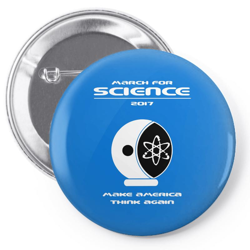 March For Science Astronaut Pin-back Button | Artistshot