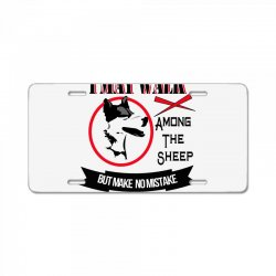 I'M A SHEEP DOG License Plate | Artistshot