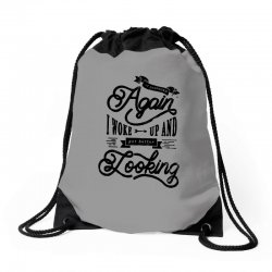 it happened aganin   better looking Drawstring Bags | Artistshot