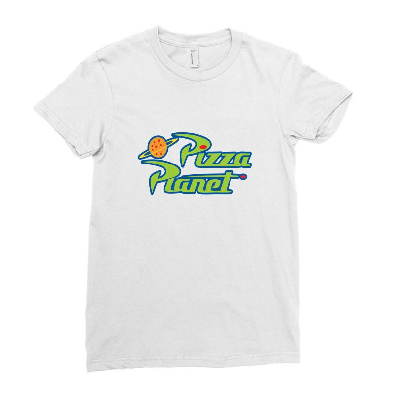 Pizza Planet Toys Merch Ladies Fitted T-shirt | Artistshot