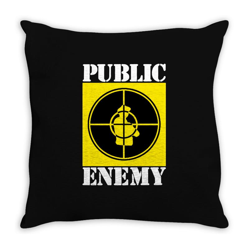 Public Enemy Throw Pillow | Artistshot