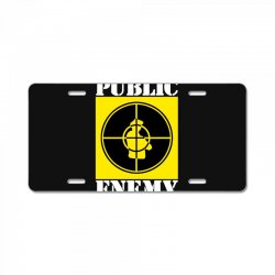 public enemy License Plate | Artistshot