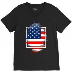 love usa V-Neck Tee | Artistshot