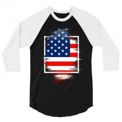 love usa 3/4 Sleeve Shirt | Artistshot