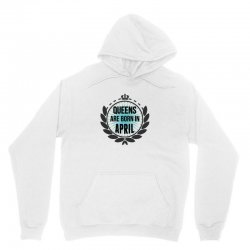 queens are born in april Unisex Hoodie | Artistshot