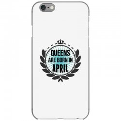 queens are born in april iPhone 6/6s Case | Artistshot