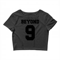 beyond 9 girls' generation   black Crop Top | Artistshot