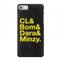 2ne1 cl and bom and dara and minzy   yellow iPhone 7 Case | Artistshot