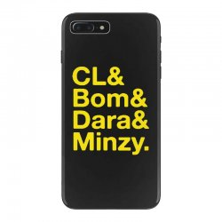 2ne1 cl and bom and dara and minzy   yellow iPhone 7 Plus Case | Artistshot