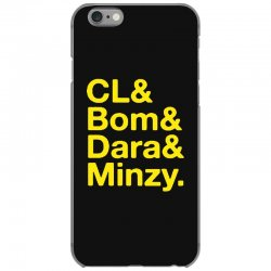 2ne1 cl and bom and dara and minzy   yellow iPhone 6/6s Case | Artistshot