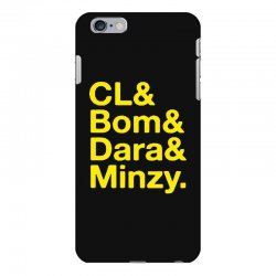 2ne1 cl and bom and dara and minzy   yellow iPhone 6 Plus/6s Plus Case | Artistshot