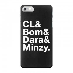 2ne1 cl and bom and dara and minzy   white iPhone 7 Case | Artistshot