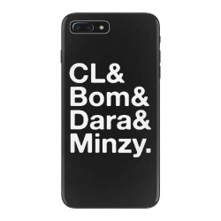 2ne1 cl and bom and dara and minzy   white iPhone 7 Plus Case | Artistshot