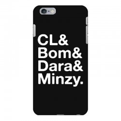 2ne1 cl and bom and dara and minzy   white iPhone 6 Plus/6s Plus Case | Artistshot
