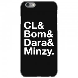 2ne1 cl and bom and dara and minzy   white iPhone 6/6s Case | Artistshot