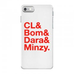 2ne1 cl and bom and dara and minzy   red iPhone 7 Case | Artistshot