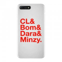 2ne1 cl and bom and dara and minzy   red iPhone 7 Plus Case | Artistshot
