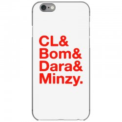 2ne1 cl and bom and dara and minzy   red iPhone 6/6s Case | Artistshot