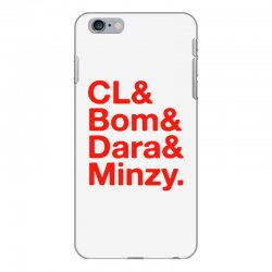 2ne1 cl and bom and dara and minzy   red iPhone 6 Plus/6s Plus Case | Artistshot