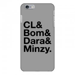 2ne1 cl and bom and dara and minzy   black iPhone 6 Plus/6s Plus Case | Artistshot