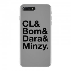 2ne1 cl and bom and dara and minzy   black iPhone 7 Plus Case | Artistshot