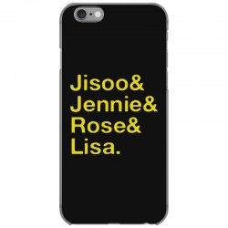 jisoo and jennie and rose and lisa   yellow iPhone 6/6s Case | Artistshot