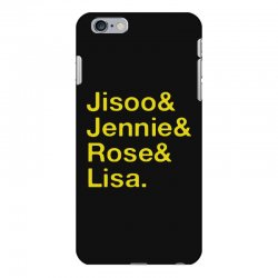jisoo and jennie and rose and lisa   yellow iPhone 6 Plus/6s Plus Case | Artistshot