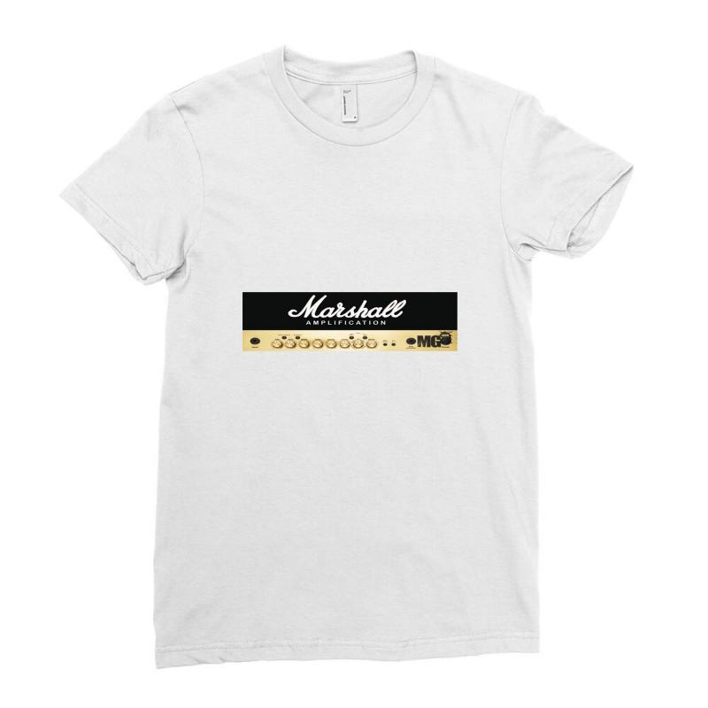 Marshall Amplification Ladies Fitted T-shirt | Artistshot